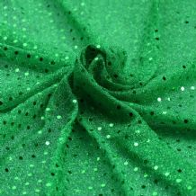 Green - Sequin Cloth